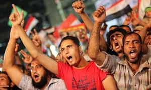 Morsi supporters protest in Cairo