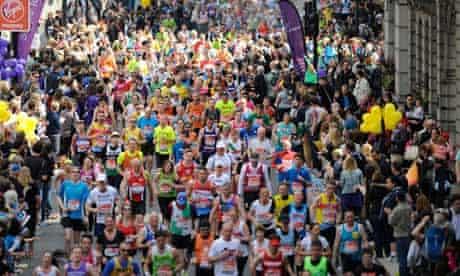 Thousands run the London marathon for thousands of charities