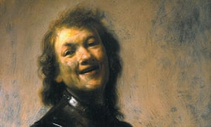Rembrandt Laughing portrait