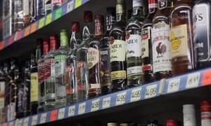 Minimum alcohol pricing plans