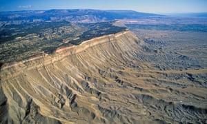 Book Cliffs, Colorado, fantastic mountain biking territory.