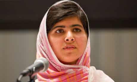 Malala Yousafzai at the United Nations