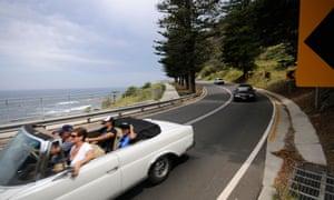 Australia's love for cars.