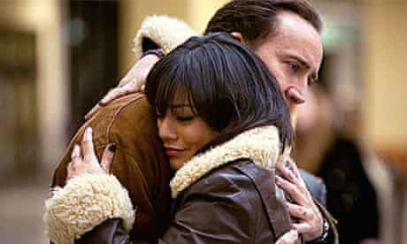 Nicolas Cage and Vanessa Hudgens in The Frozen Ground