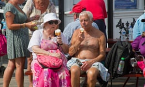 The hot weather is good for the ice cream business on Brighton Pier. Find out how the heatwave is affecting the UK economy.