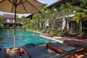 Green Park Boutique hotel in Vientiane, Laos