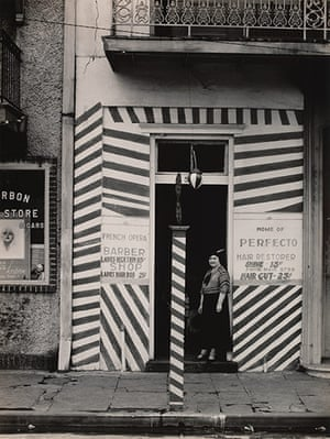 Walker Evans: Sidewalk and Shopfront, New Orleans, 1935