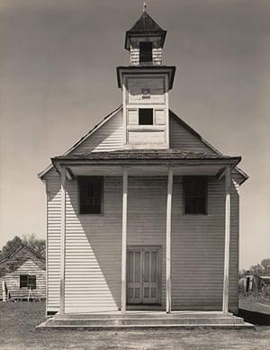 Walker Evans: Negro Church, South Carolina, 1936