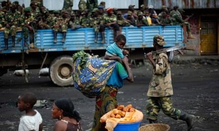 M23 rebels in the Democratic Republic of the Congo