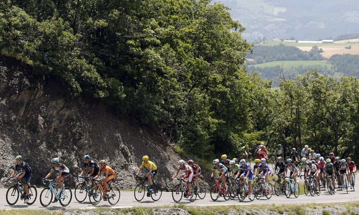 Tour de France 2013: Christophe Riblon wins stage 18 – as it