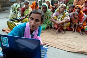 Info Ladies: helping Bangladeshi women with laptops and Internet connections, Bangladesh