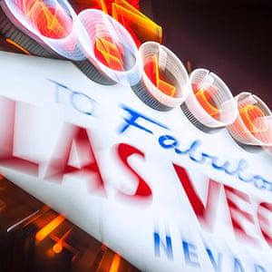 Las Vegas in pictures: Las Vegas sign