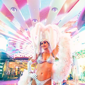 Las Vegas in pictures: Retired showgirl