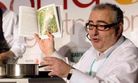 Spanish chef Santi Santamaria