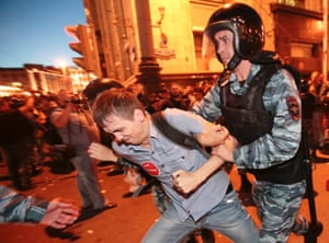 opposition leader Alexei Navalny to five years in jail.