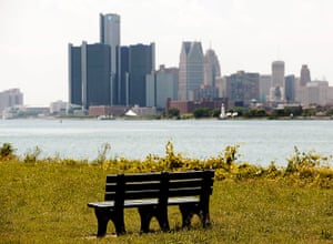 motor city blues: Between the years 2000 and 2010, Detroit's population declined by a quarter