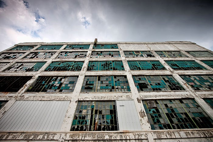 Detroit: a city in decline - in pictures   Cities   The Guardian