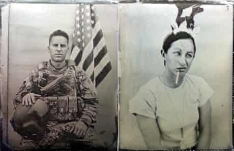 Wet-plate collodion images