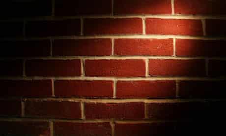 Brick wall, bricks and mortar