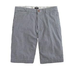 Shorts: Stanton gingham short