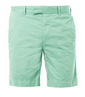 Shorts: Slim-fit cotton shorts