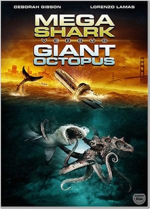 Shark Film Posters: Mega Shark versus Giant Octopus