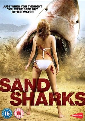 Shark Film Posters: Sand Sharks