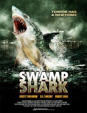 Shark Film Posters: Swamp Shark