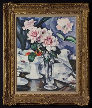 Copied Pictures: Pink Roses in a Glass vase