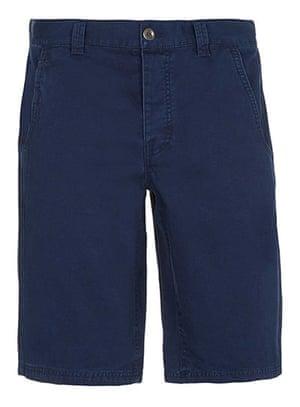 Budget shorts: Navy longer length shorts