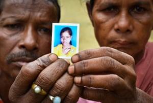Indian Slavery: Arjun Tati, 55, and Mukti Tati, 50