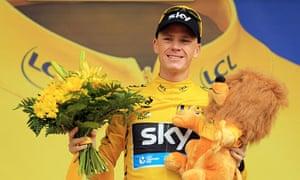 Tour de France leader Chris Froome