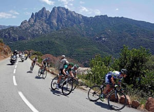 Tour de France stage 3: The pack of riders