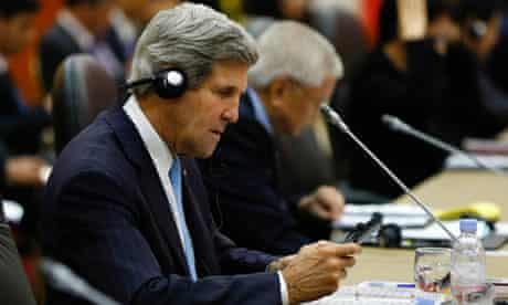 John Kerry at Asean