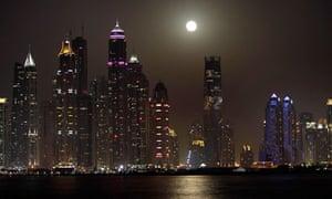 Skyscrapers in Dubai, UAE