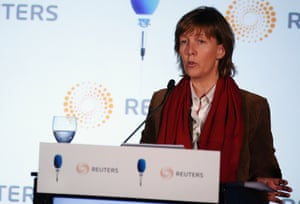 Portugal's Treasury Secretary Maria Luis Albuquerque attends a conference organised by Reuters and TSF radio in Lisbon, in this May 30, 2013 file picture.