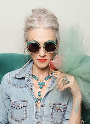 Karen Walker Sunglasses: Linda