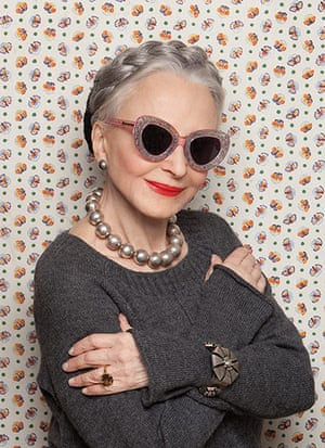 Karen Walker Sunglasses: Joyce