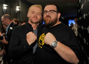 Comic-con: Simon Pegg, Nick Frost