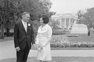Helen Thomas: Helen Thomas and Douglas B. Cornell