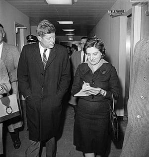 Helen Thomas: Kennedy Interviewed by Helen Thomas