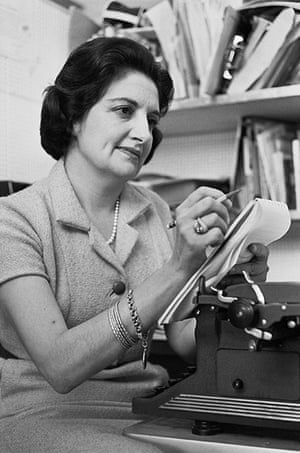 Helen Thomas: Helen Thomas with Pad and Pencil