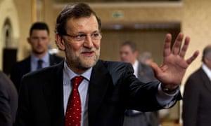 Mariano Rajoy in Palma, Mallorca, 19/7/13