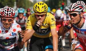 Cigars all round at the Tour de France.