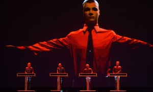 Kraftwerk at Latitude festival, Southwold, 20/7/13