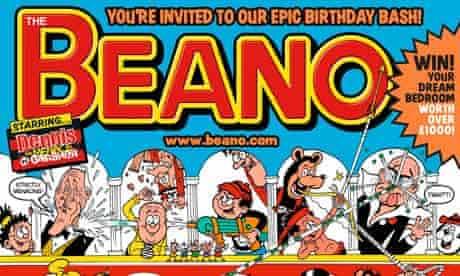 75th Anniversary of The Beano