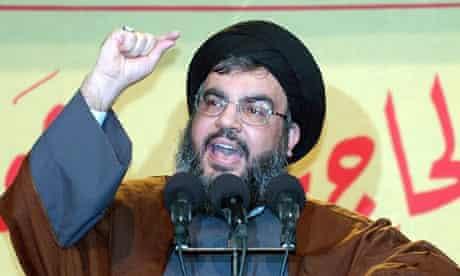 Lebanese Hizbollah leader Sheikh Hassan Nasrallah