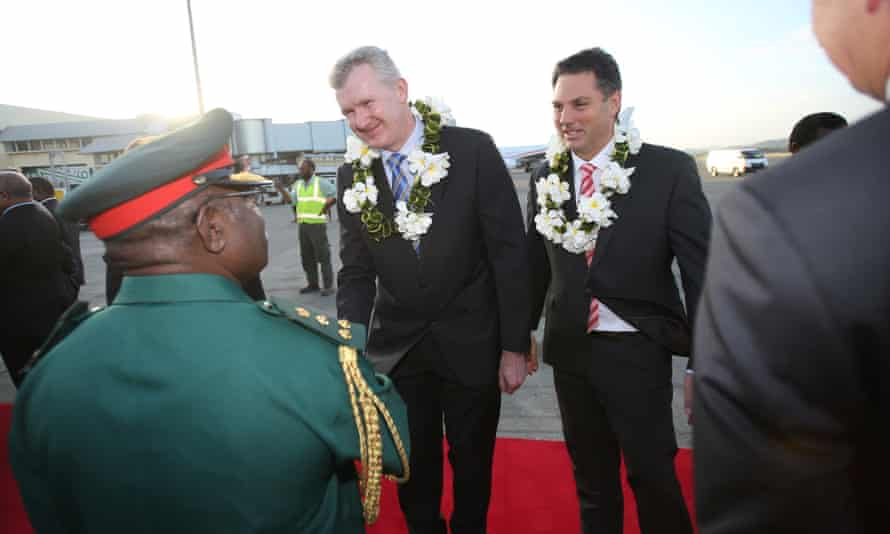 Tony Burke in PNG
