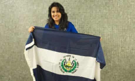 Yolanda Cecibel Ramirez. Pilgrim picture from Dom Phillips