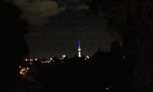 Auckland's Sky Tower.